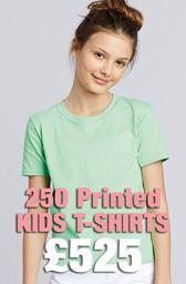 250 x Gildan Kids Softstyle® Ringspun T-Shirts Deal