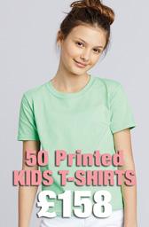 50 x Gildan Kids Softstyle® Ringspun T-Shirts Deal